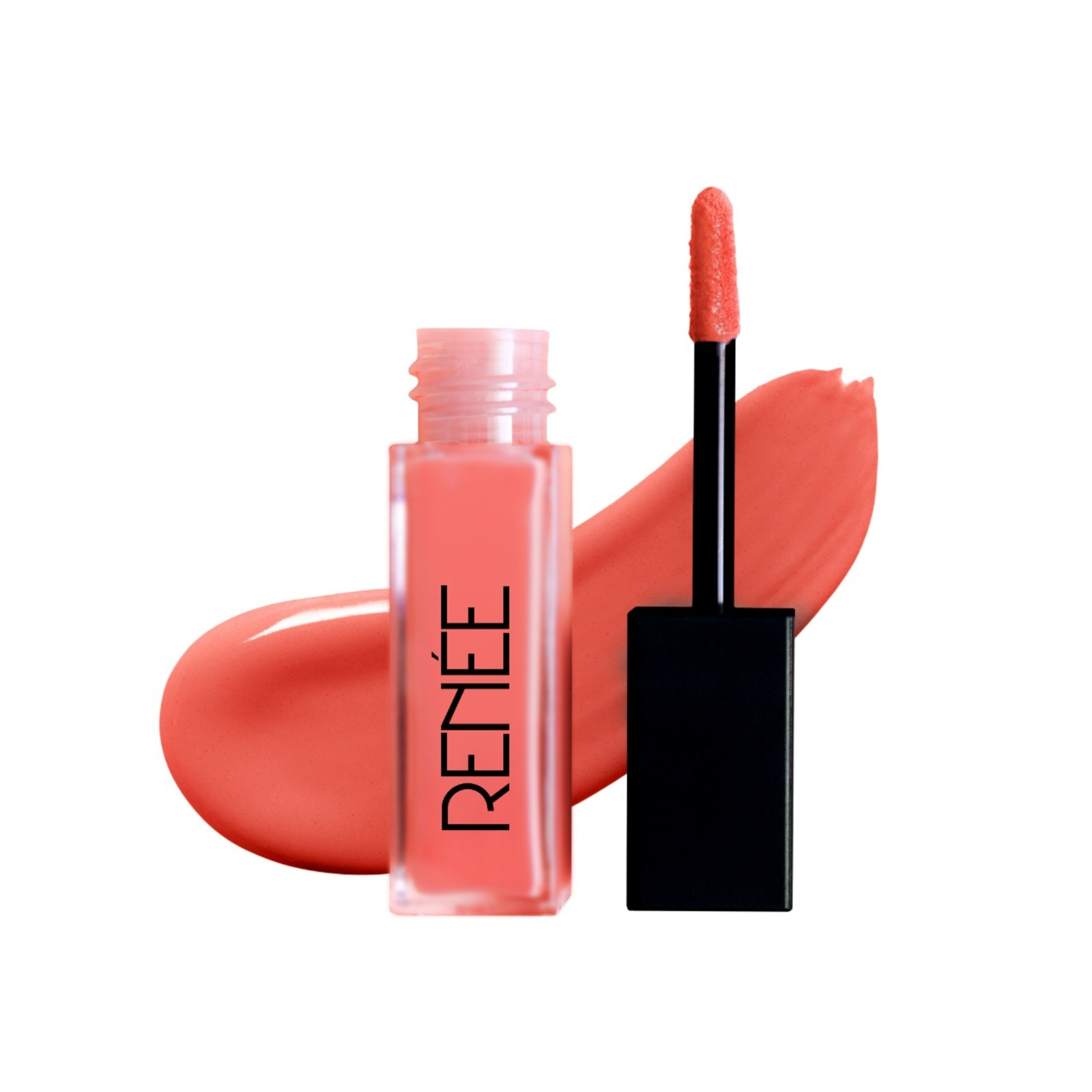 RENEE CHECK MATTE Liquid Lip Color - House of Coral (6ml) (House of Coral)